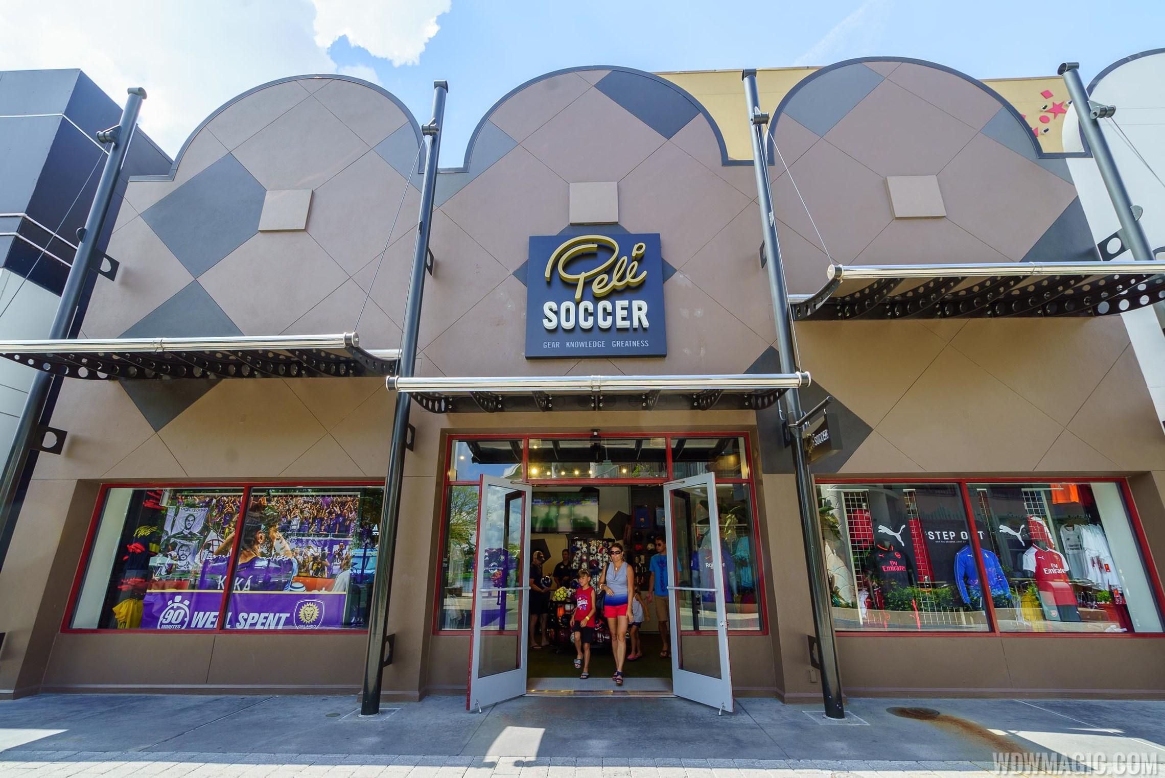 United World Soccer at Disney Springs rebranded to Pelé Soccer