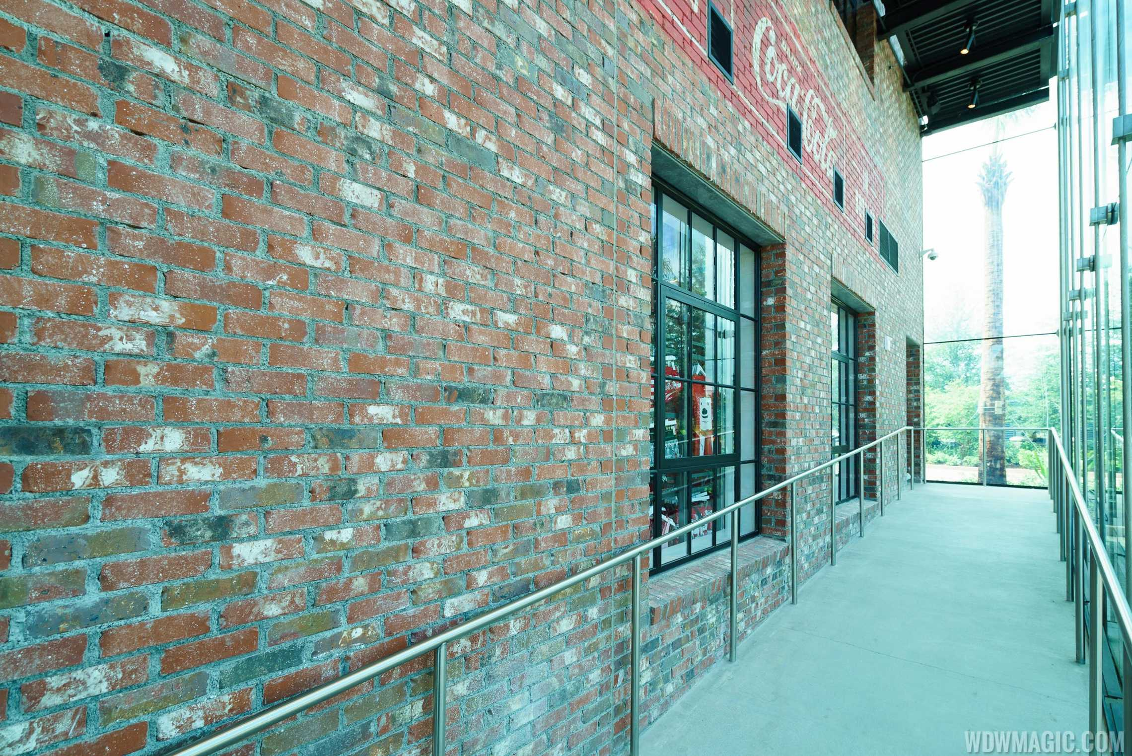 Coca-Cola Store Orlando - Ramp to second floor