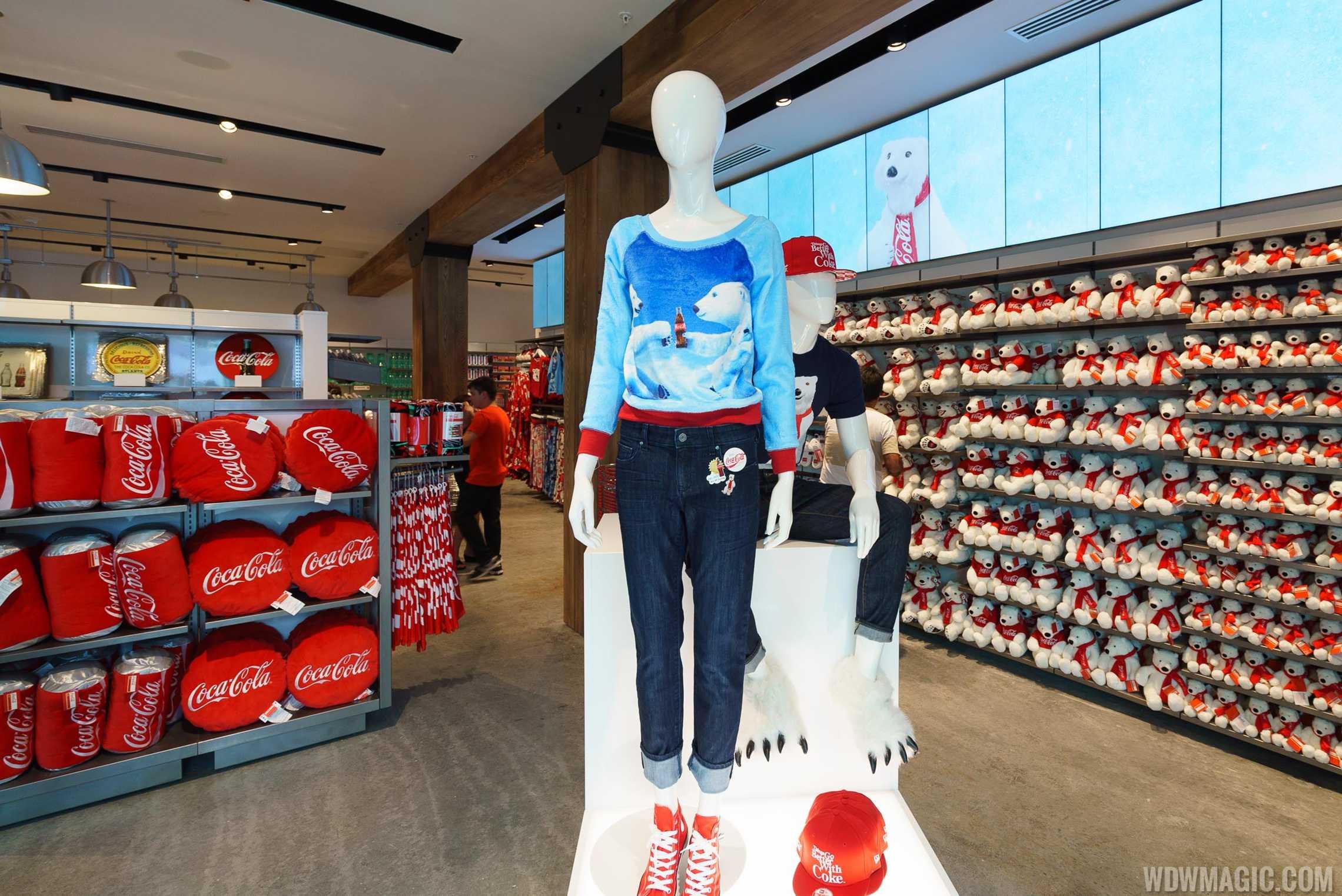 Coca-Cola Store Orlando - Second Floor merchandise