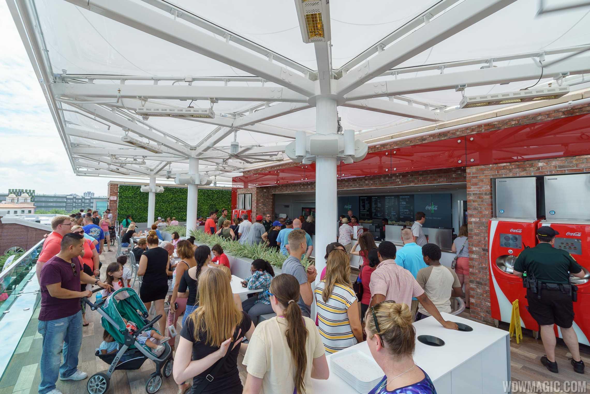 Coca-Cola Store Orlando - Third Floor bar