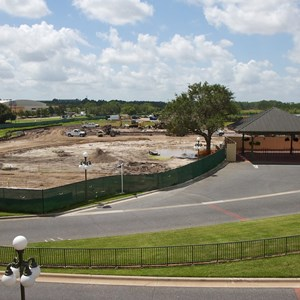 3 of 6: Bus Transportation - Magic Kingdom bus stop expansion construction