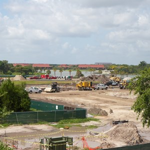 4 of 6: Bus Transportation - Magic Kingdom bus stop expansion construction