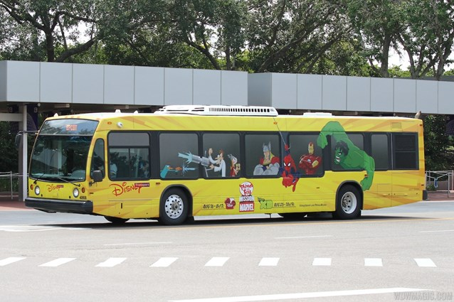 Bus Transportation - Disney Channel bus wrap