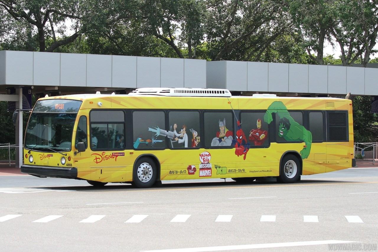 Disney Channel bus wrap