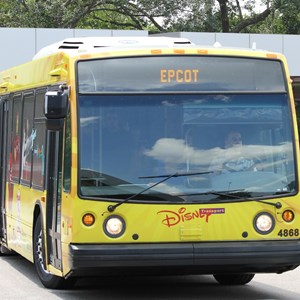 2 of 3: Bus Transportation - Disney Channel bus wrap