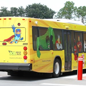 3 of 3: Bus Transportation - Disney Channel bus wrap
