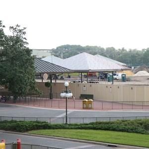 3 of 8: Bus Transportation - Magic Kingdom bus stop expansion construction