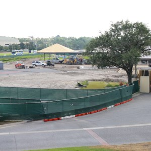 4 of 8: Bus Transportation - Magic Kingdom bus stop expansion construction