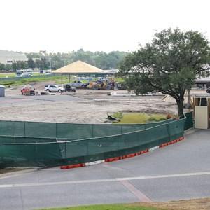 4 of 8: Bus Transportation - Magic Kingdom bus stop expansion construction