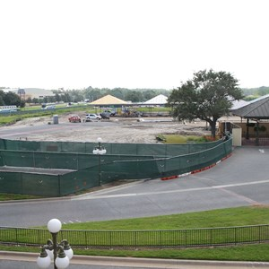 5 of 8: Bus Transportation - Magic Kingdom bus stop expansion construction