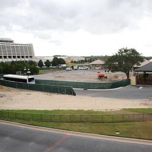 3 of 6: Bus Transportation - Magic Kingdom bus stop expansion construction