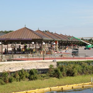 2 of 6: Bus Transportation - Magic Kingdom bus stop expansion construction