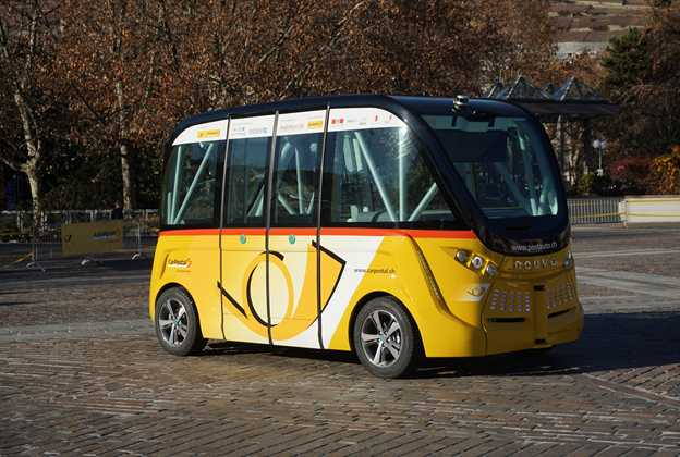 Navya Arma autonomous electric shuttle
