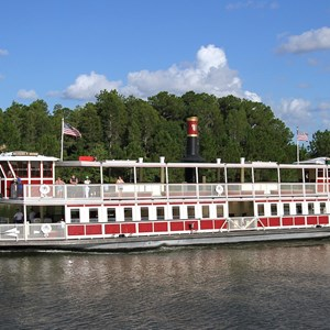 3 of 3: Magic Kingdom Ferry boats - Richard F. Irvine