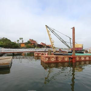 1 of 5: Magic Kingdom Ferry boats - Second Ferry boat loading dock at Transportation and Ticket Center