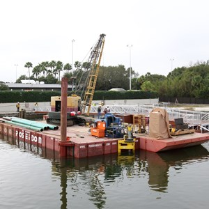 3 of 5: Magic Kingdom Ferry boats - Second Ferry boat loading dock at Transportation and Ticket Center