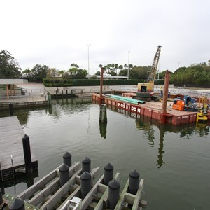 4 of 5: Magic Kingdom Ferry boats - Second Ferry boat loading dock at Transportation and Ticket Center