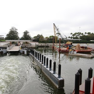 5 of 5: Magic Kingdom Ferry boats - Second Ferry boat loading dock at Transportation and Ticket Center