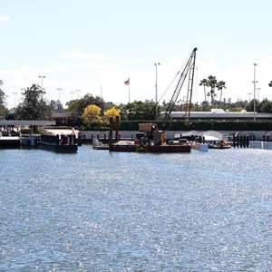 5 of 5: Magic Kingdom Ferry boats - Second Ferry boat loading dock at Transportation and Ticket Center construction