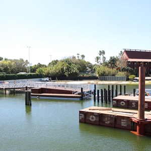 3 of 5: Magic Kingdom Ferry boats - Second Ferry boat loading dock at Transportation and Ticket Center construction