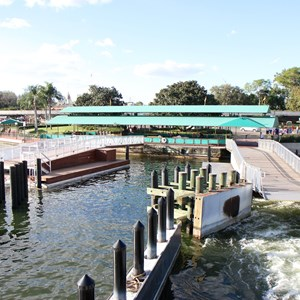 2 of 4: Magic Kingdom Ferry boats - Second Ferry boat dock construction at the Magic Kingdom