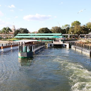 3 of 4: Magic Kingdom Ferry boats - Second Ferry boat dock construction at the Magic Kingdom