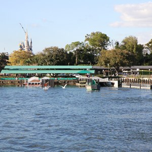 4 of 4: Magic Kingdom Ferry boats - Second Ferry boat dock construction at the Magic Kingdom
