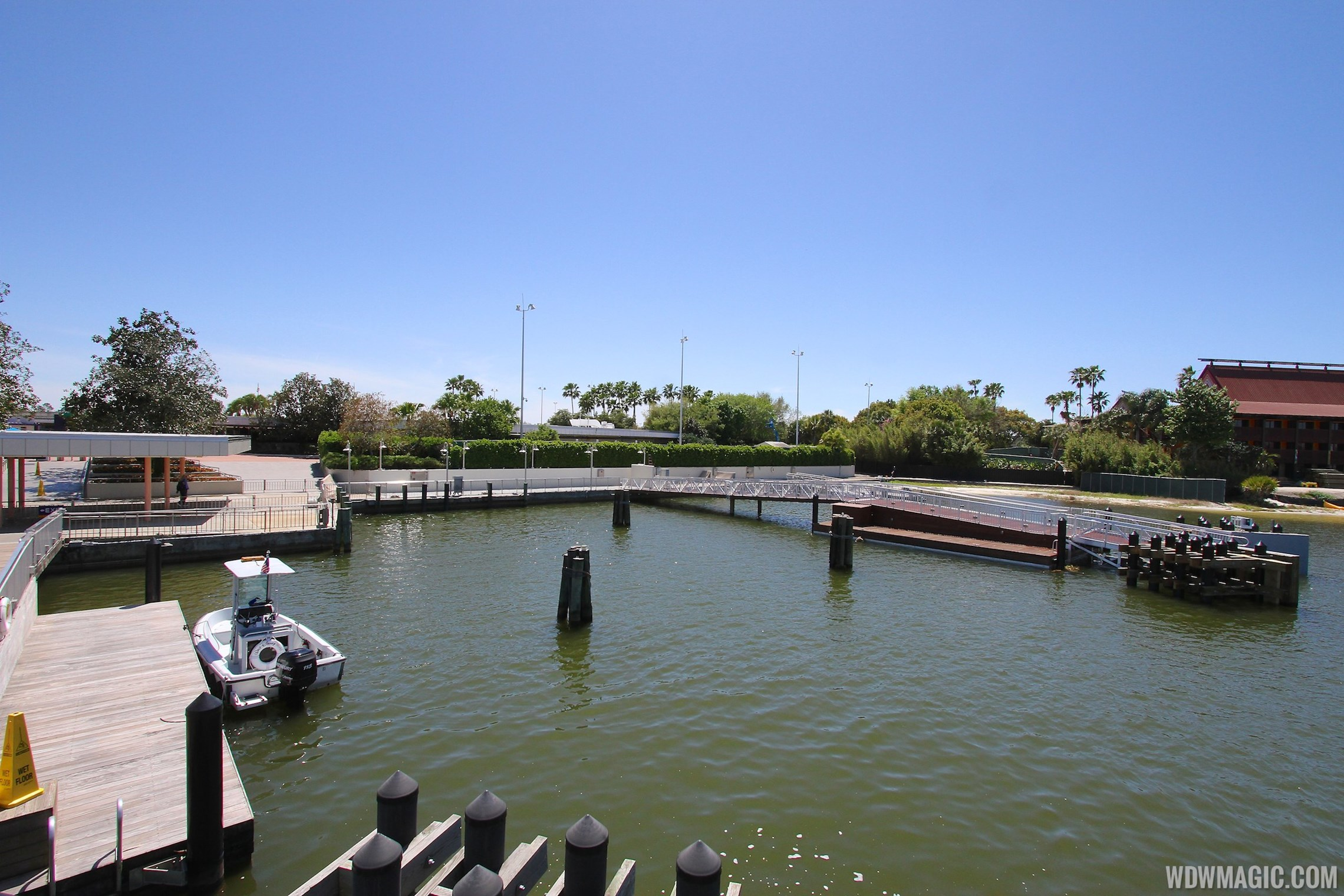 Completed second ferry boat docks at the Magic Kingdom and TTC