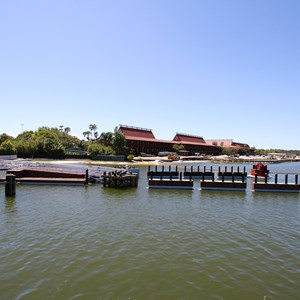 4 of 11: Magic Kingdom Ferry boats - Completed second ferry boat docks at the Magic Kingdom and TTC