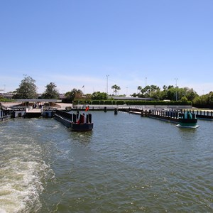 6 of 11: Magic Kingdom Ferry boats - Completed second ferry boat docks at the Magic Kingdom and TTC