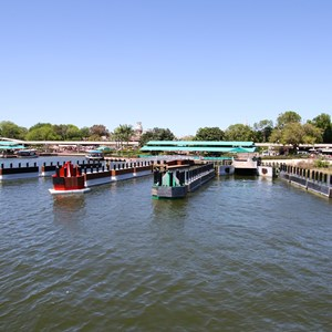 7 of 11: Magic Kingdom Ferry boats - Completed second ferry boat docks at the Magic Kingdom and TTC