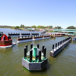 8 of 11: Magic Kingdom Ferry boats - Completed second ferry boat docks at the Magic Kingdom and TTC