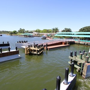 9 of 11: Magic Kingdom Ferry boats - Completed second ferry boat docks at the Magic Kingdom and TTC