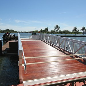10 of 11: Magic Kingdom Ferry boats - Completed second ferry boat docks at the Magic Kingdom and TTC