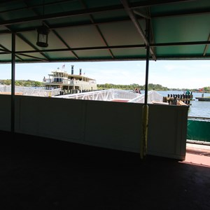 11 of 11: Magic Kingdom Ferry boats - Completed second ferry boat docks at the Magic Kingdom and TTC