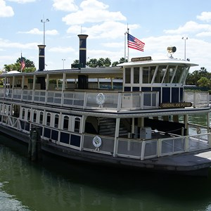 1 of 2: Magic Kingdom Ferry boats - General Joe Potter