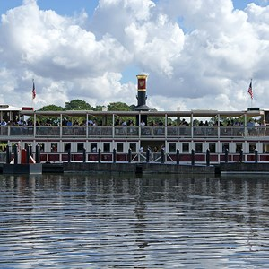 2 of 3: Magic Kingdom Ferry boats - Richard F. Irvine