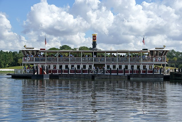 Magic Kingdom Ferry boats