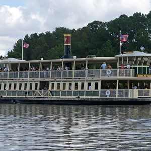 1 of 1: Magic Kingdom Ferry boats - Admiral Joe Fowler