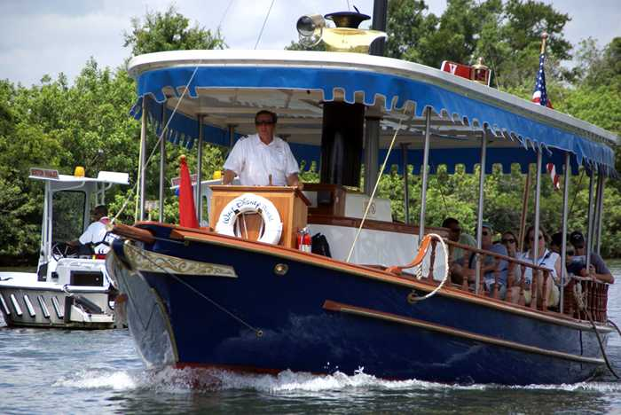 Voyager motor launch boat