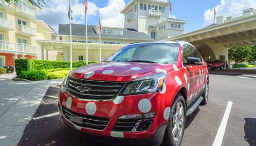 PHOTOS - Disney's Minnie Van Service begins testing at Walt Disney World