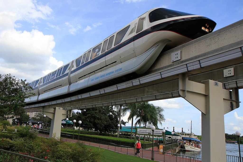 Monorail Black with Halloween graphics