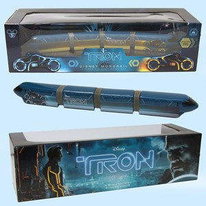 1 of 1: Walt Disney World Monorail System - TRON Legacy monorail die-cast model