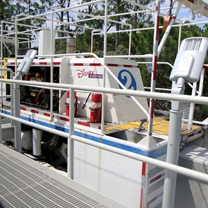 2 of 3: Walt Disney World Monorail System - Maintenance tractor on new spur extension