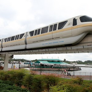 1 of 8: Walt Disney World Monorail System - Monorail Peach