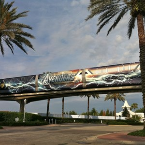 2 of 5: Walt Disney World Monorail System - Avengers wrap