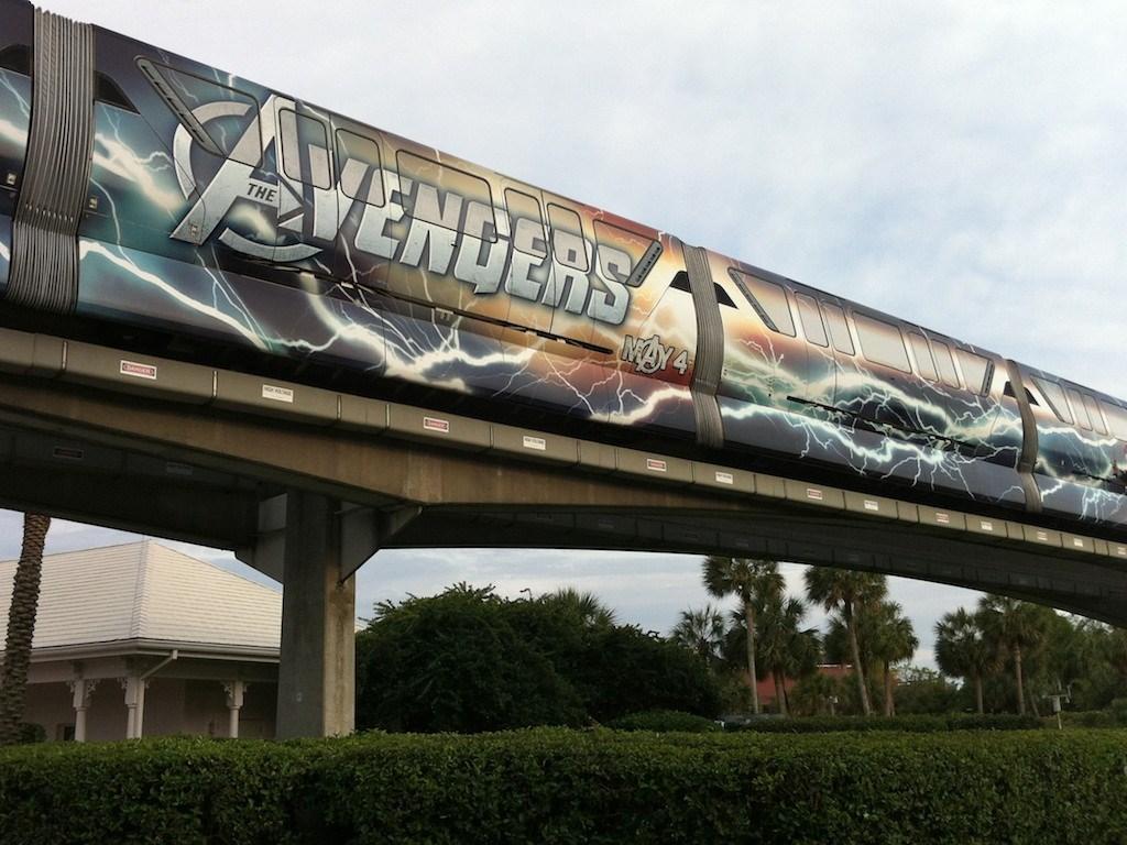 Avengers wrap