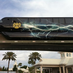 4 of 5: Walt Disney World Monorail System - Avengers wrap