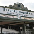 Walt Disney World Monorail System - Express Monorail wait time sign
