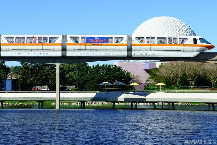 PHOTOS - Zootopia takes to the monorail beam with new promo wrap